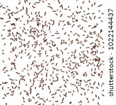 Chocolate Sprinkles Isolated O...