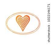 simple vector hearts icon | Shutterstock .eps vector #1022146171