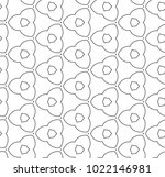 seamless ornamental vector... | Shutterstock .eps vector #1022146981
