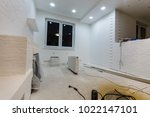 apartment repair wall repair... | Shutterstock . vector #1022147101