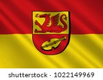 flag of alzey worms is a... | Shutterstock . vector #1022149969