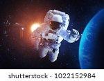 astronaut   elements of this... | Shutterstock . vector #1022152984