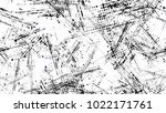 grainy black and white distress ... | Shutterstock .eps vector #1022171761