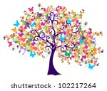 isolated abstract spring time... | Shutterstock . vector #102217264