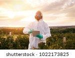 weed control. industrial...   Shutterstock . vector #1022173825