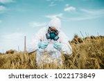 weed control. industrial...   Shutterstock . vector #1022173849