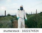 weed control. industrial... | Shutterstock . vector #1022174524