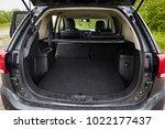 clean  open empty trunk in the...   Shutterstock . vector #1022177437