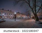 turku  finland   20 01 2018  ... | Shutterstock . vector #1022180347