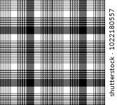 black and white fabric texture... | Shutterstock .eps vector #1022180557