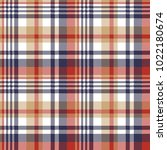pixel plaid textile tartan... | Shutterstock .eps vector #1022180674