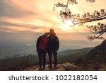 lover women and men asians...   Shutterstock . vector #1022182054