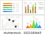 set of colorful infographic... | Shutterstock .eps vector #1022183665