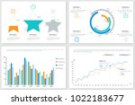 collection of creative... | Shutterstock .eps vector #1022183677