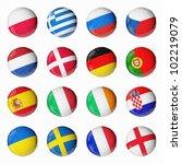 soccer euro 2012   Shutterstock . vector #102219079