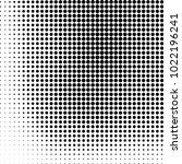 halftone black and white... | Shutterstock .eps vector #1022196241