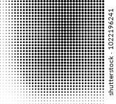 halftone black and white... | Shutterstock .eps vector #1022196241