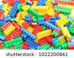 colorful block background | Shutterstock . vector #1022200861