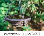 Bird Bath Hanging With Ropes I...