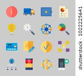 icons about business with idea  ... | Shutterstock .eps vector #1022225641
