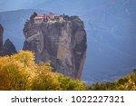 beautiful view of monasteries... | Shutterstock . vector #1022227321