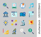 icons about inspiration with... | Shutterstock .eps vector #1022228641