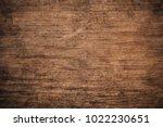 old grunge dark textured wooden ...   Shutterstock . vector #1022230651