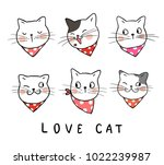 vector illustration set  design ... | Shutterstock .eps vector #1022239987