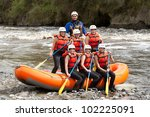Rafting Team Whitewater Young...