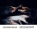 doctor operation in operation... | Shutterstock . vector #1022262949