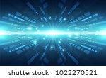 abstract vector super high... | Shutterstock .eps vector #1022270521