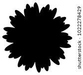 geometric radial element.... | Shutterstock .eps vector #1022278429