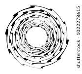 geometric radial element.... | Shutterstock .eps vector #1022278615