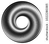 geometric radial element.... | Shutterstock .eps vector #1022280385