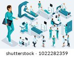 isometrics medicine  female... | Shutterstock .eps vector #1022282359