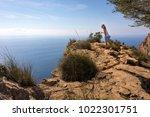 benidorm  alicante spain  ... | Shutterstock . vector #1022301751
