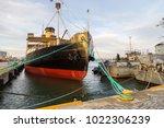 tallinn  estonia  december 31 ... | Shutterstock . vector #1022306239