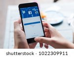 chiang mai  thailand   july 30  ... | Shutterstock . vector #1022309911