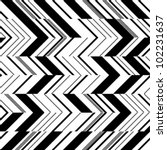 zigzag pattern in two colors | Shutterstock .eps vector #102231637