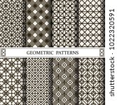 geometric vector pattern... | Shutterstock .eps vector #1022320591