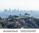 aerial view of griffith... | Shutterstock . vector #1022332435