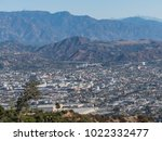 aerial view of  glendale... | Shutterstock . vector #1022332477