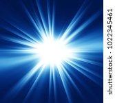 abstract burst background ... | Shutterstock . vector #1022345461