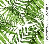 watercolor seamless pattern... | Shutterstock .eps vector #1022351875