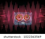 audio cassettes for recorder... | Shutterstock . vector #1022363569