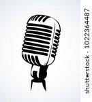 modern grey metallic pop jazz... | Shutterstock .eps vector #1022364487