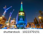 perth  australia   jan 5  2018  ... | Shutterstock . vector #1022370151