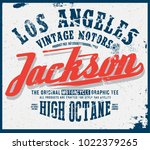 vintage apparel graphic | Shutterstock .eps vector #1022379265
