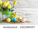 Happy Easter. Congratulatory...