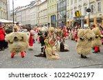 ljubljana  slovenia on february ...   Shutterstock . vector #1022402197